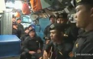 Awak Kapal Selam Nanggala 402 Nyanyikan Lagu Sampai Jumpa