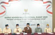 Wakil Presiden Ma'ruf Amin Buka Rakornas Baznas