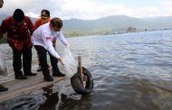 Menteri Suharso Tinjau Proyek Prioritas Nasional Danau Maninjau