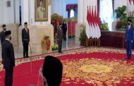 Presiden Jokowi Lantik Mendikbudristek, Menteri Investasi, dan Kepala BRIN