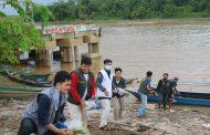 Beras Zakat Fitrah BAZNAS Sampai di Pelosok Tanah Dayak Kalimantan Tengah