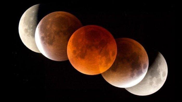 Malam Ini Gerhana Bulan Total, Terjadi 195 Tahun Sekali Bisa Langsung Dilihat Mata
