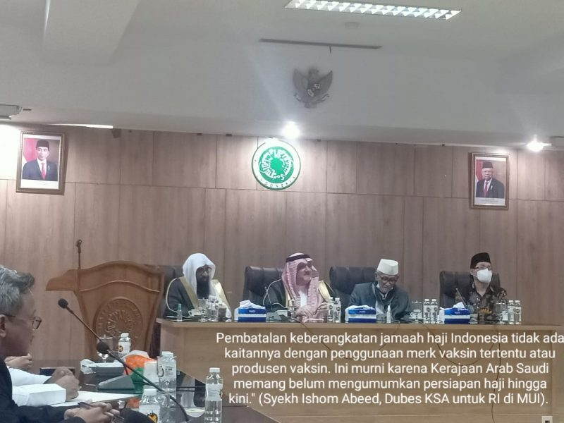 Luruskan Pemberitaan Soal Haji, Dubes Saudi Silaturahmi ke MUI