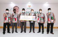 BAZNAS Kota Bandung Serahkan Rp416 Juta untuk Palestina