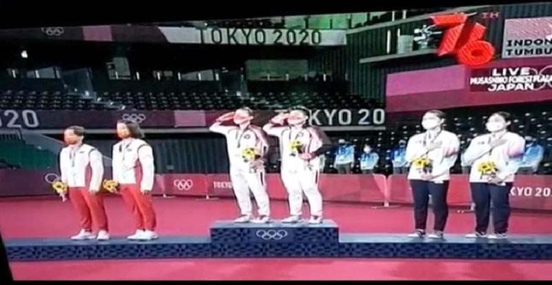 Indonesia Raih Emas Perdana di Olimpiade Tokyo