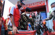 Pemulihan Ekonomi Level Desa, Mendes PDTT Tinjau Pertashop di Sidoarjo