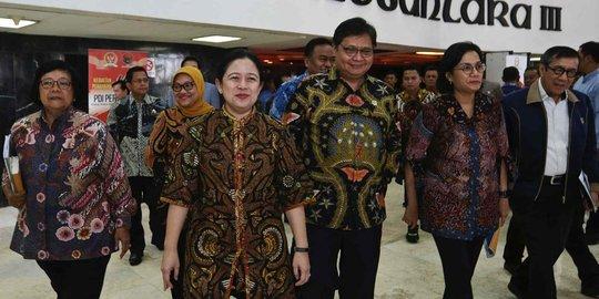 Golkar Serahkan Surat Pergantian Wakil Ketua DPR, Lodewijk F Paulus Gantikan Azis Syamsuddin