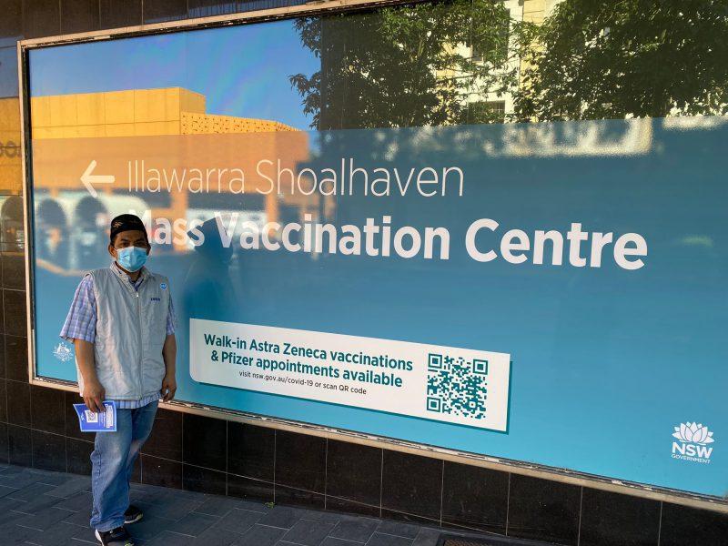 Pengalaman Ikut Vaksin di Negeri Kangguru
